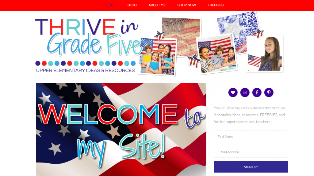 Thrive in Grade Five Blog